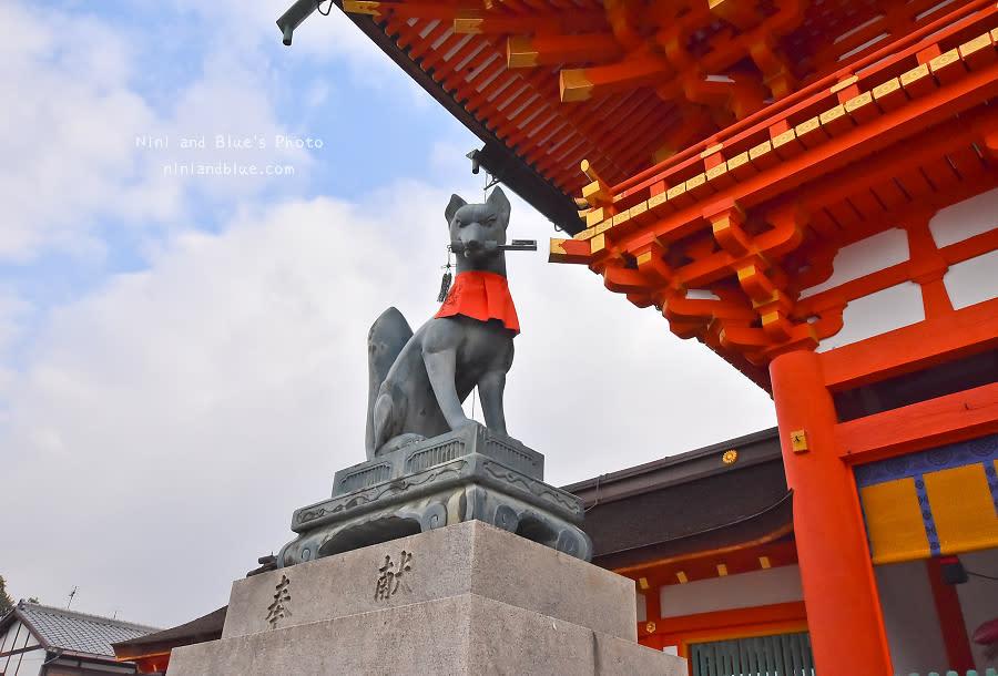 京都景點推薦 伏見稻荷神社 鳥居 怎麼去07