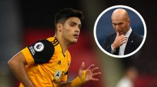 Zidane won't be drawn on Jimenez rumours amid Real Madrid links to Wolves striker