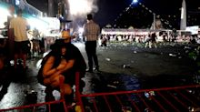 In pictures: Las Vegas tries to come to terms with deadliest mass shooting in US history
