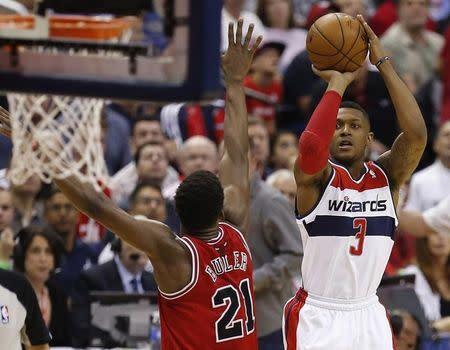 NBA: Playoffs-Chicago Bulls at Washington Wizards
