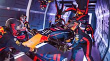 Red Bull completes first F1 pitstop in zero gravity