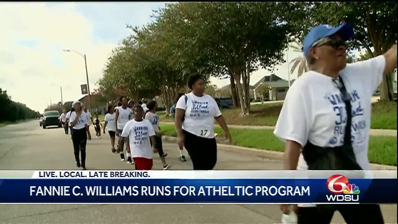School walks to raise funds for athletic program