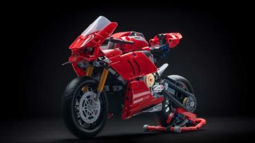 最易入手的Ducati來了!Lego推出Panigale V4 R積木模型