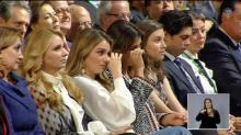 Hasta las lágrimas. Así de emotivo fue el Informe de Peña Nieto... para sus hijas