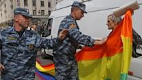 Russia Warns Gay Athletes at Olympics Could Be Arrested