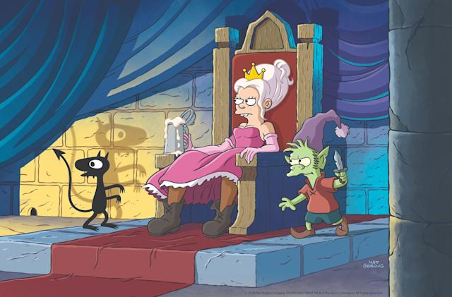Matt Groening's animated Netflix series debuts August 17th