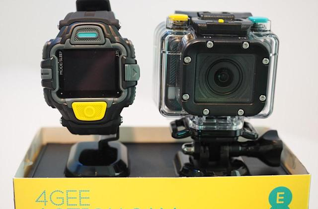 EE's own-brand action cam livestreams over 4G