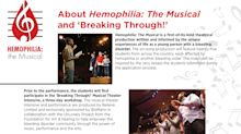 BioMarin and Believe Limited Announce the Debut of 'Hemophilia: The Musical'