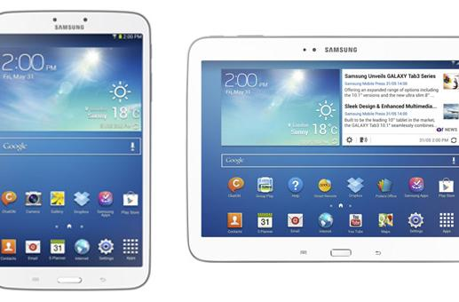 Samsung Galaxy Tab 3 8- and 10.1-inch versions to launch worldwide early June