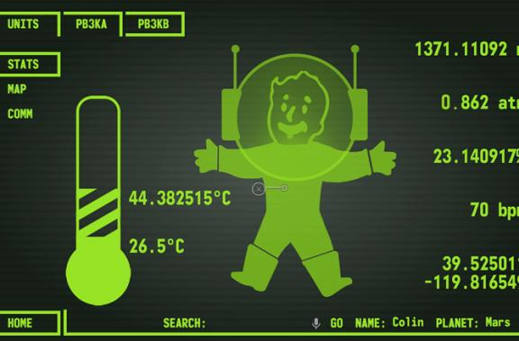 Working Pip-Boy 3000 from Fallout built for NASA challenge