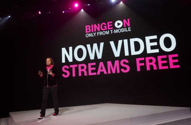 T-Mobile slams DirecTV Now in free Hulu offer