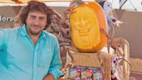 Pumpkin Carving Artists Create Halloween 'Enchanted Garden'