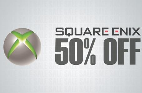 Square Enix holding 50% off sale on Xbox Live Marketplace