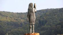Une statue de Melania Trump installée à nouveau en Slovénie, un an après l'incendie de la première