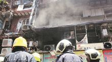 Sitting on a time bomb, say shopkeepers as fire breaks out in congested South Mumbai market