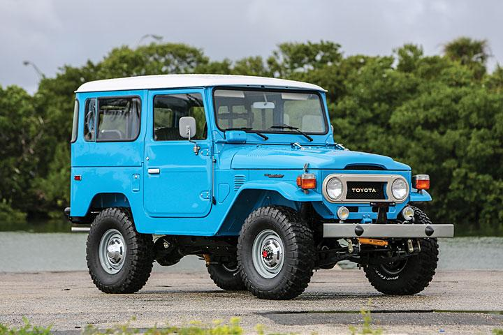 This Spotless Toyota Land Cruiser Fj40 Is 4 215 4 Royalty