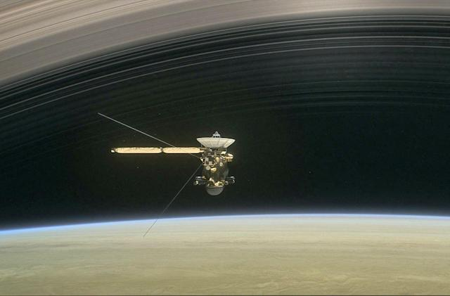 Cassini will take five victory laps before plunging into Saturn