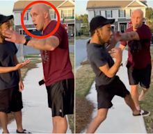 An Army sergeant who was filmed shoving a Black man has been charged with 3rd-degree assault