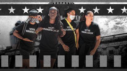Democracy in action: WNBA players vs. Loeffler