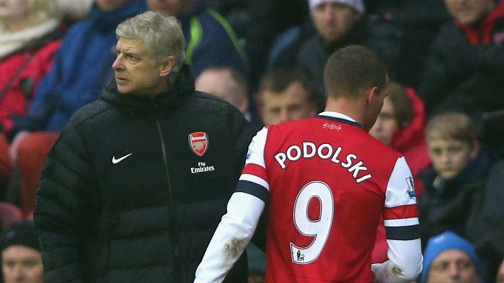 'Wenger built Arsenal from nothing' - Podolski defends former manager