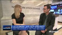 Lululemon CEO: We're going after guys who want clothes for the gym and for work