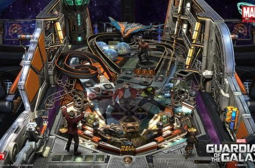 The Guardians of the Galaxy are pinball wizards in Zen Pinball 2