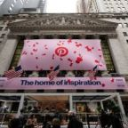 Pinterest begins trading at the NYSE