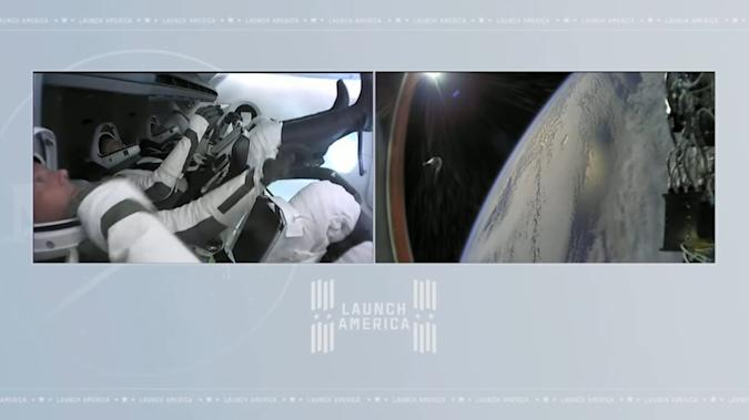 SpaceX Crew-2 mission successful