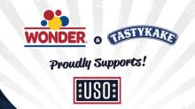 """Tastykake® and Wonder® """"Deploy the Joy"""" with a $1 Million Commitment to Support The USO®"""