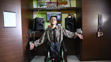 Disabled rapper Wheel Smith preparing for his biggest gig to date