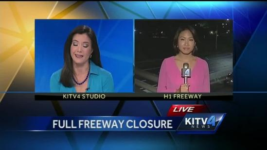 Get ready for full freeway closures in town overnight