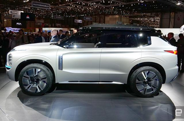 Mitsubishi shows off the future of its plug-in hybrid SUV line