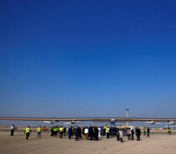 Solar plane takes off from Egypt on final leg of world tour