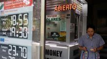 Mexican peso rallies as exit polls show Lopez Obrador win