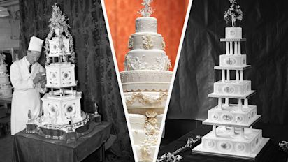 Royal wedding cakes throughout the years