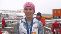 Teen's Mission To Honor Father Fuels a Marathon to Antarctica...and Around The World