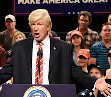 'SNL': Trump slaps back after Alec Baldwin mocks his national emergency news conference