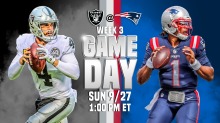 Las Vegas Raiders vs. New England Patriots live stream, NFL football predictions, odds, TV channel, start time