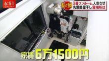 【有片】咁都算慘?日本都心61,500円月租超細房