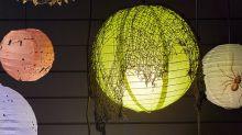How to Make DIY Halloween Paper Lanterns