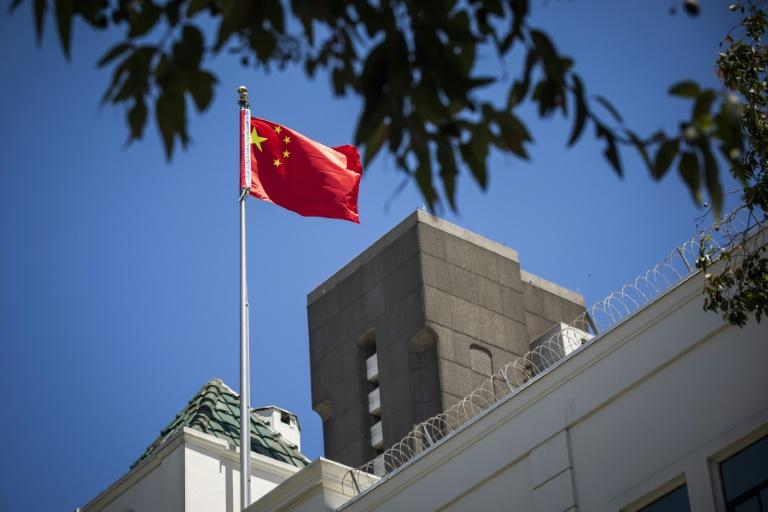 The EU member states said measures would be taken against six individuals and three entities from China and Russia involved in various actions, including the attempt to hack into the Organisation for the Prohibition of Chemical Weapons (OPCW) (AFP Photo/Philip Pacheco)