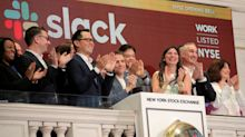 Slack had the third largest initial trade in the U.S.