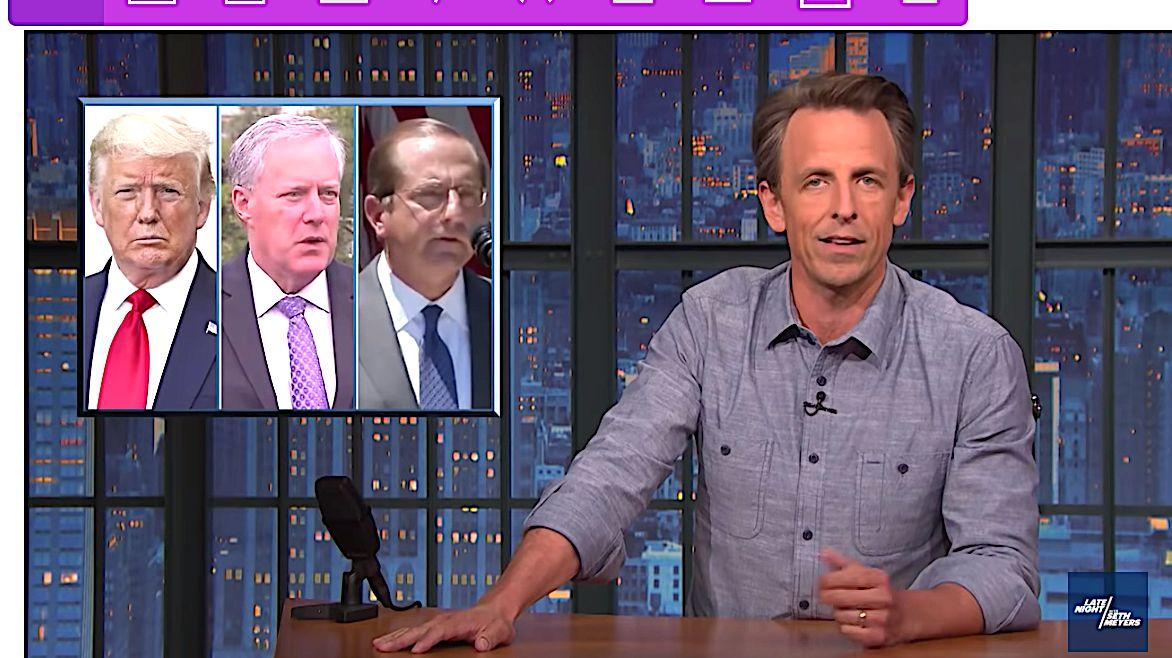 Republicans Stumped Over How To Attack A Likable, Effective President, Says Seth Meyers