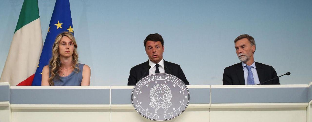 Terremoto, Renzi annuncia lutto nazionale per funerali vittime