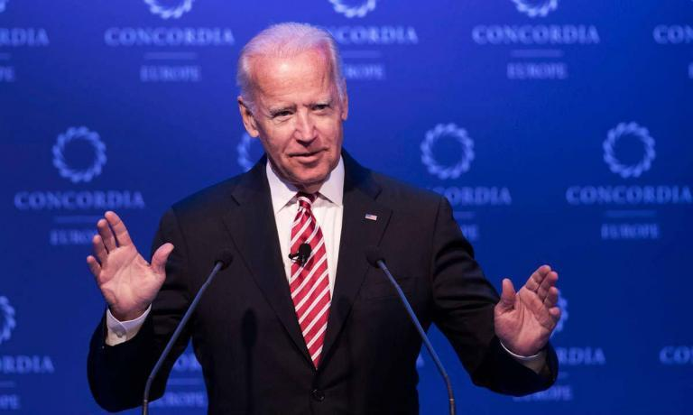 Joe Biden signals he is done being 'quiet and respectful' as he tears into Trump: 'We're walking down a very dark path'