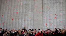 British relatives gather in Ypres on Armistice Day to mark passing of their fallen families