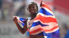 Dina Asher-Smith wins silver medal in Doha