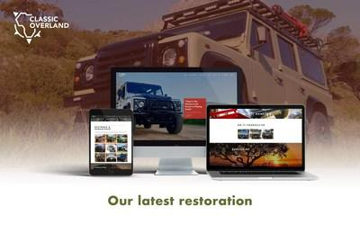 Classic Overland Launches a Brand New Content-driven Website for Land Rover Defender Enthusiasts