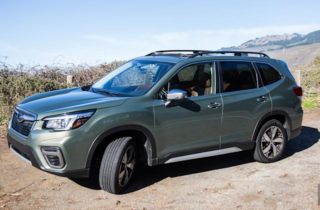 Subaru's Forester combines driver monitoring tech with outdoor style