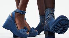 Free Lance sublime nos pieds avec sa collection inédite de chaussures en jean 100% recyclée